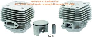 Kit cylindre piston adaptable Husqvarna  268, 268K